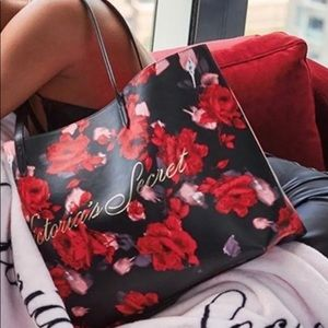 Victoria's Secret Roses Tote Bag 🌹